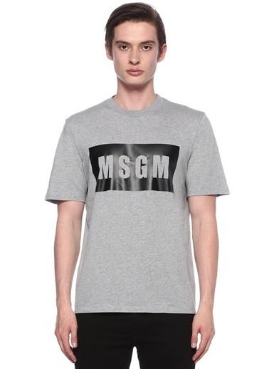 Msgm Tişört Gri